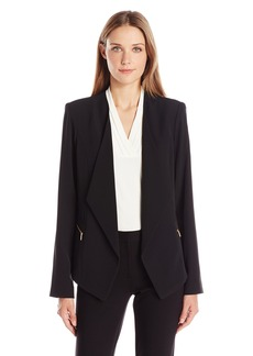 Calvin Klein Women's Jacket Soft Suiting