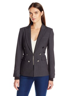Calvin Klein Women's Jacket W/Knit Accents