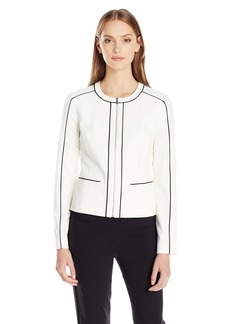 Calvin Klein Women's Jacket with Piping
