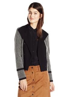 Calvin Klein Women's Jacquard Flyaway Jacket