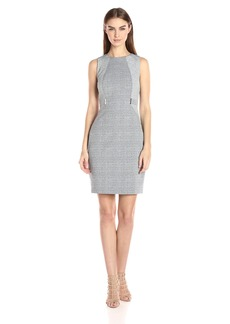 Calvin Klein Women's Jacquard Sheath Dress
