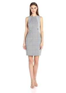 Calvin Klein Women's Jacquard Sheath Dress
