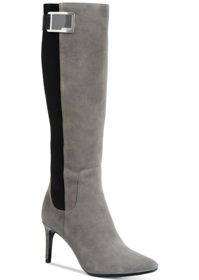 Calvin Klein Calvin Klein Women's Jaidia Tall Dress Boots Women's ...
