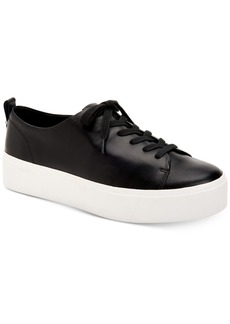 Calvin Klein Women's Janet Platform Lace-Up Sneakers Women's Shoes