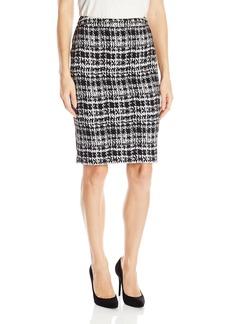 Calvin Klein Women's Jaquard Pencil Skirt