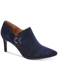 Calvin Klein Women's Joanie Pointed-Toe Shooties Women's Shoes