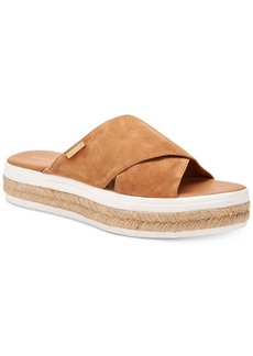 Calvin Klein Women's Jupare Platform Slide-On Sandals Women's Shoes