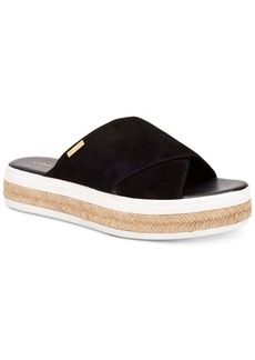 Calvin Klein Women's Jupare Platform Slide-On Sandals Women's Shoes