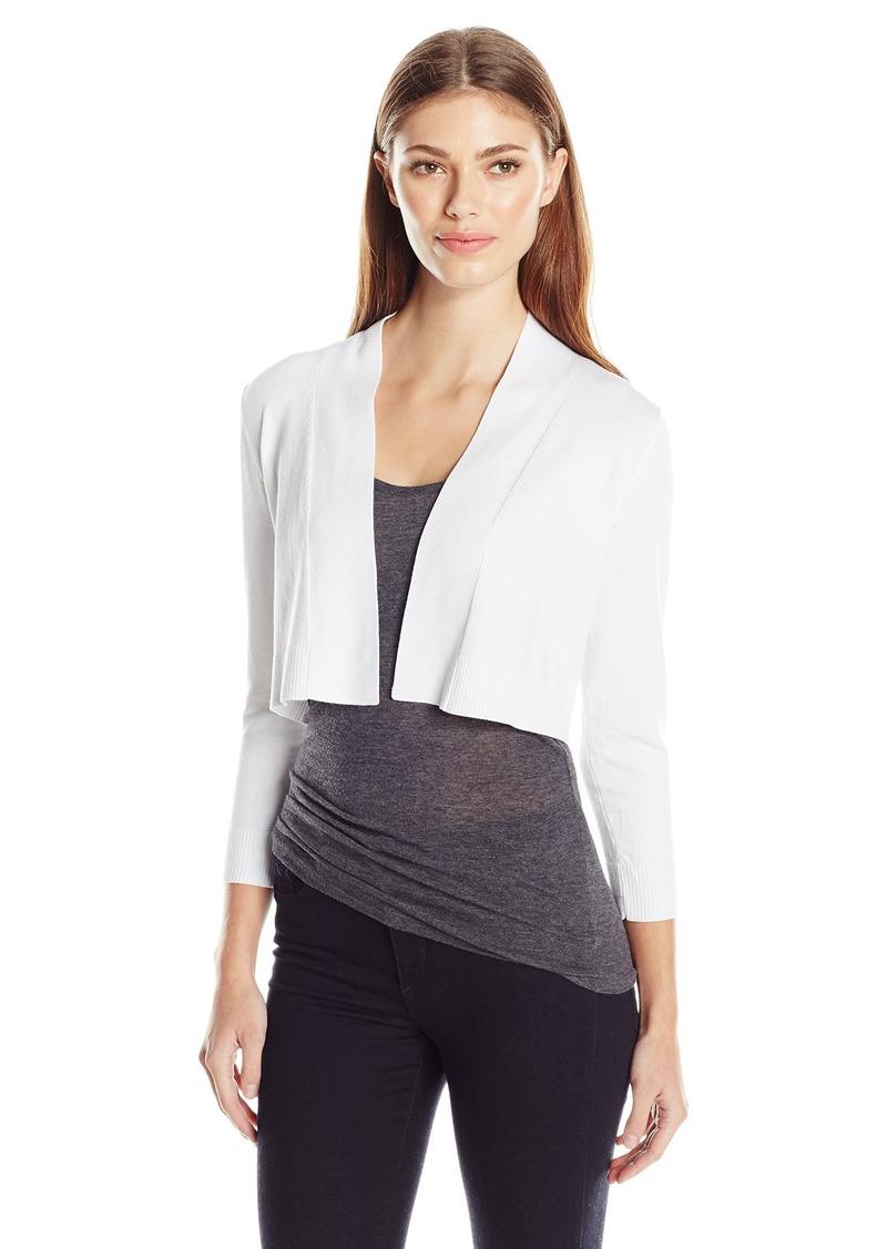 Calvin Klein Women's 3/4 Sleeve Knit Shrug
