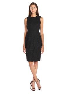 Calvin Klein Women's Lace Sheath Dress