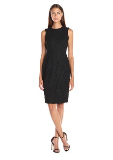 Calvin Klein Women's Lace Sheath Dress