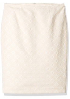 Calvin Klein Women's Lace Straight Skirt
