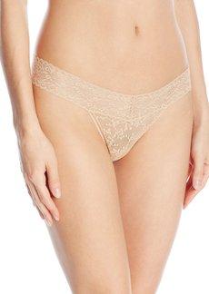 Calvin Klein Women's Underwear  Lace Thong Panty