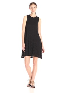 Calvin Klein Women's Lace Trapeze Dress