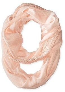 Calvin Klein Women's Lace Trim Infinity Scarf