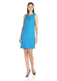 Calvin Klein Women's Lace up Dress