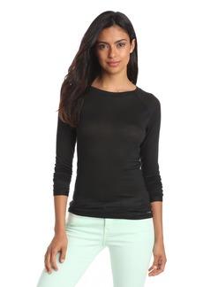 Calvin Klein Women's Layering Tees Long Sleeve T-shirt