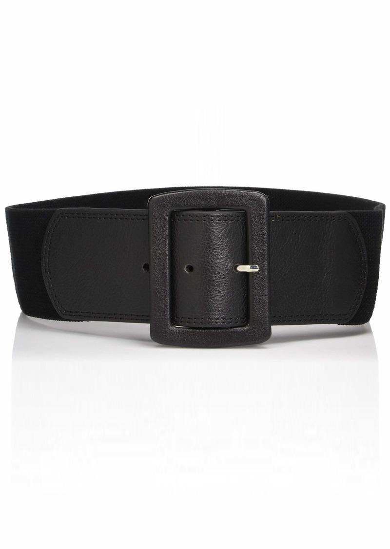 Calvin Klein Women's Linen Stretch Belt  Medium/Large