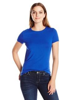 Calvin Klein Women's Classic Crew Neck Jersey T-Shirt