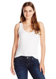 Calvin Klein Women's Liquid Jersey Scoop-Neck Tank  L
