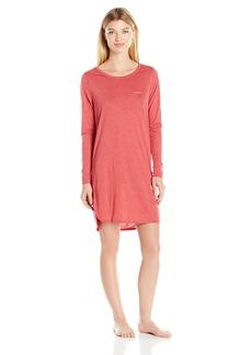 Calvin Klein Women's Liquid Luxe Long Sleeve Nightshirt