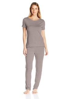 Calvin Klein Women's Liquid Luxe Pajama Top and Pant
