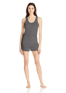 Calvin Klein Women's Liquid Luxe Tank and Short Pajama Set