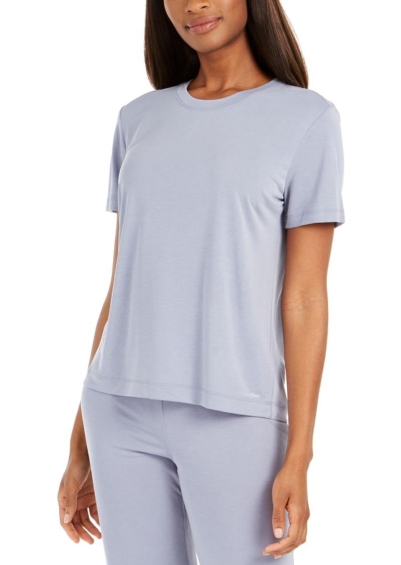 Calvin Klein Women's Liquid Touch Pajama Top