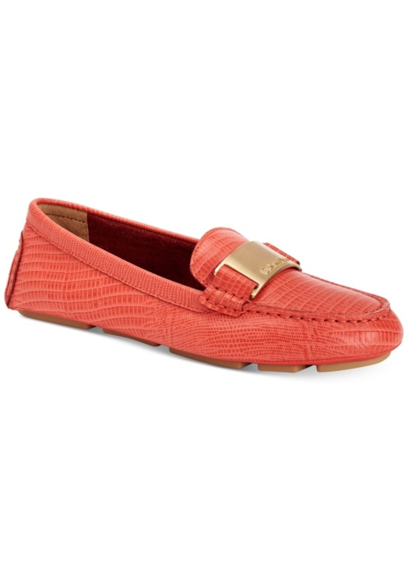 6ee293b7733 Calvin Klein Calvin Klein Women s Lisette Flats Women s Shoes Now  54.43