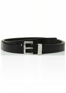 Calvin Klein Women's Lizard Belt black S