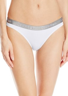 Calvin Klein Women's Logo Cotton Thong Panty