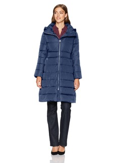 Calvin Klein Women's Long Down Puffer Coat  M