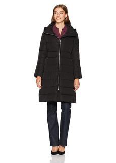 Calvin Klein Women's Long Down Puffer Coat  S