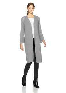 Calvin Klein Women's Long Flare Sleeve Cardigan  XS