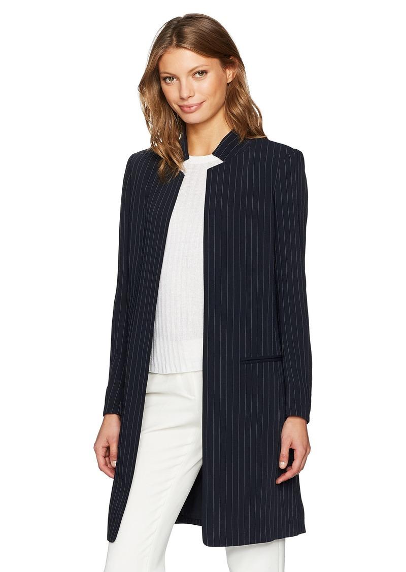 c935c6bd5cf4d2 Calvin Klein Calvin Klein Women's Long Open Collar Jacket | Outerwear