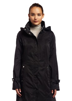 Calvin Klein Womens Long Packable Anorak