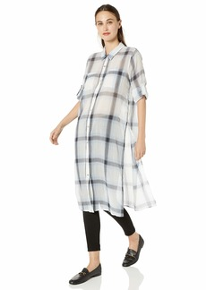 Calvin Klein Women's Long ROLL Sleeve Tunic
