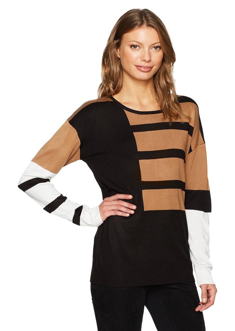 258f11d598 SALE! Calvin Klein Calvin Klein Women s Long Sleeve Crewneck Mix ...