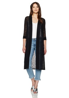 Calvin Klein Women's Long Sleeve Duster Shrug  XL