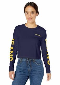 Calvin Klein Women's Long Sleeve Logo Graphic T-Shirt