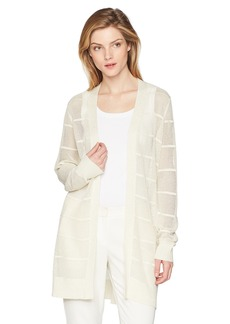 Calvin Klein Women's Long Sleeve Lurex Cardigan  S