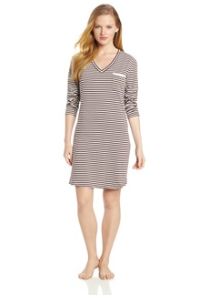 Calvin Klein Womens Long Sleeve Nightdress