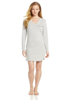 Calvin Klein Womens Long Sleeve Nightdress