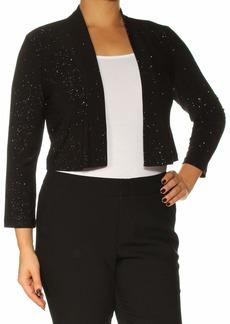 Calvin Klein Women's Long Sleeve Shimmer Shrug