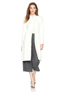 Calvin Klein Women's Long Tweed Duster Jacket