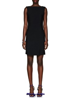 CALVIN KLEIN 205W39NYC Women's Low-Back Crepe Dress