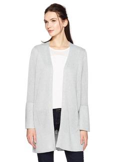 Calvin Klein Women's Lurex Bell Sleeve Cardigan  XS