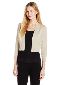 Calvin Klein Women's Lurex Shrug
