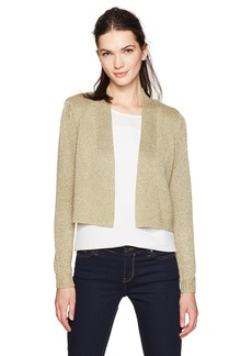 Calvin Klein Women's Lurex Shrug  M