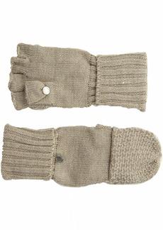 Calvin Klein Women's Lurex Textured Flip Top Glove  O/S
